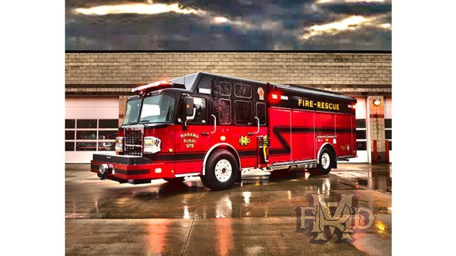 Manawa, Wis., Rural Fire Dept. Gets Rescue Pumper