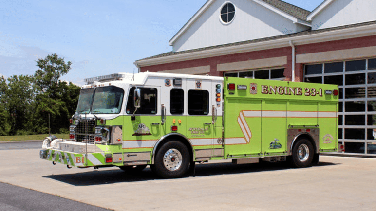 Avondale Pa Puts Decked Out Pumper in Service
