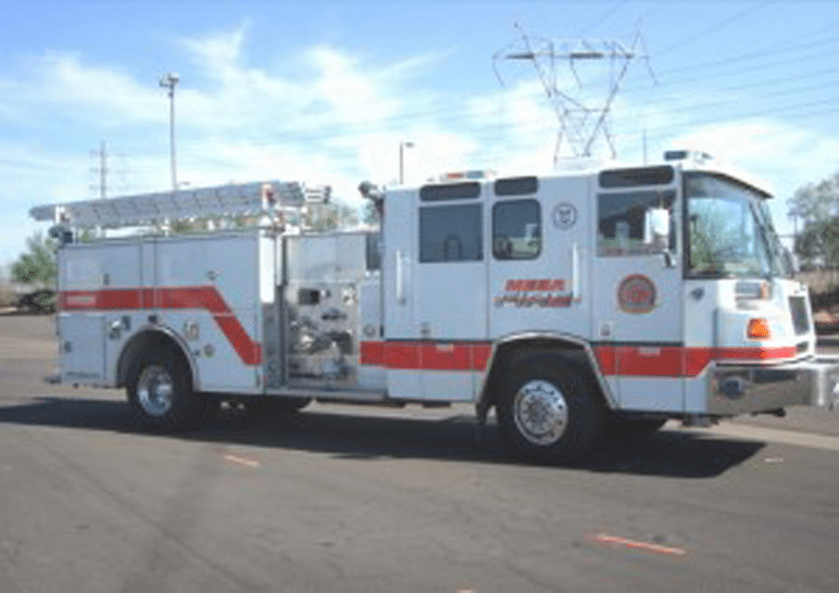 Mesa 1997 fire truck donated to East Valley Institute of Technology