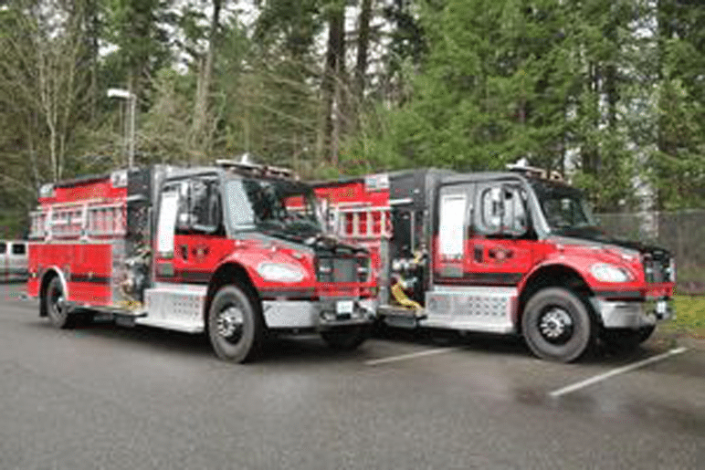 Two new fire trucks come to Maple Valley Fire & Life Safety
