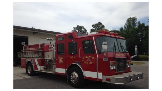 MS Department Receives Donated Pumper