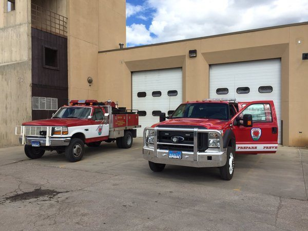 RCFD welcomes new wildland fire apparatus
