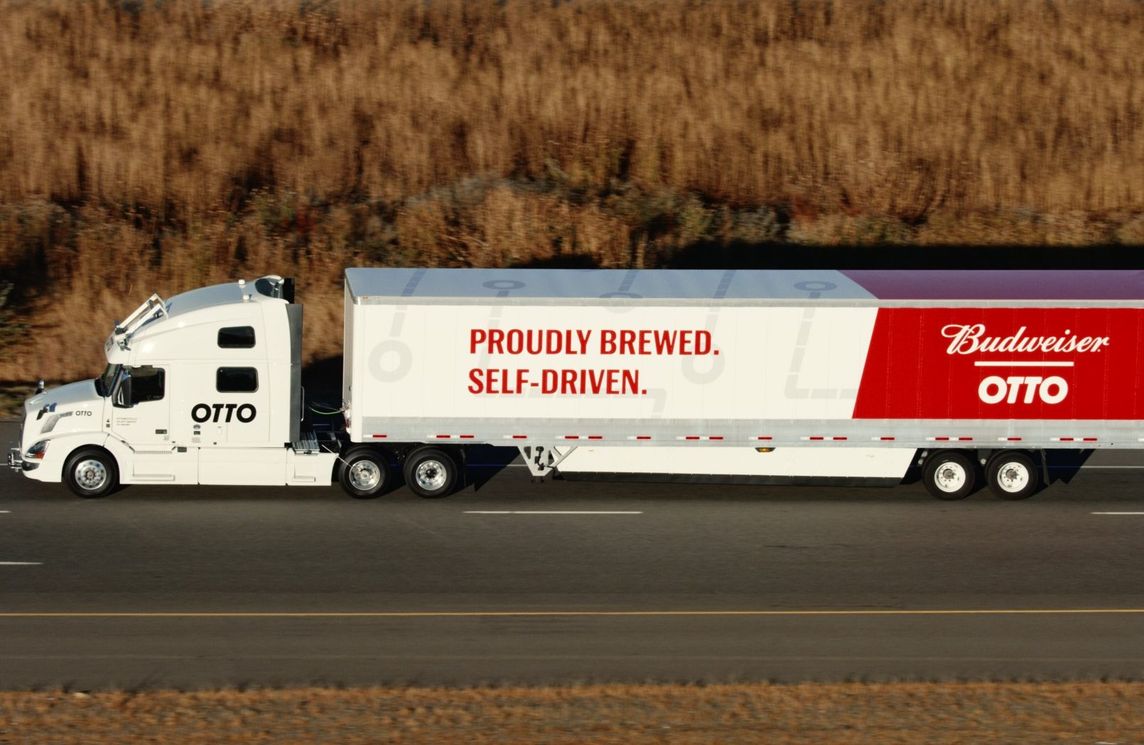 Otto hauls Budweiser in First Commercial Use of Self-Driving Truck