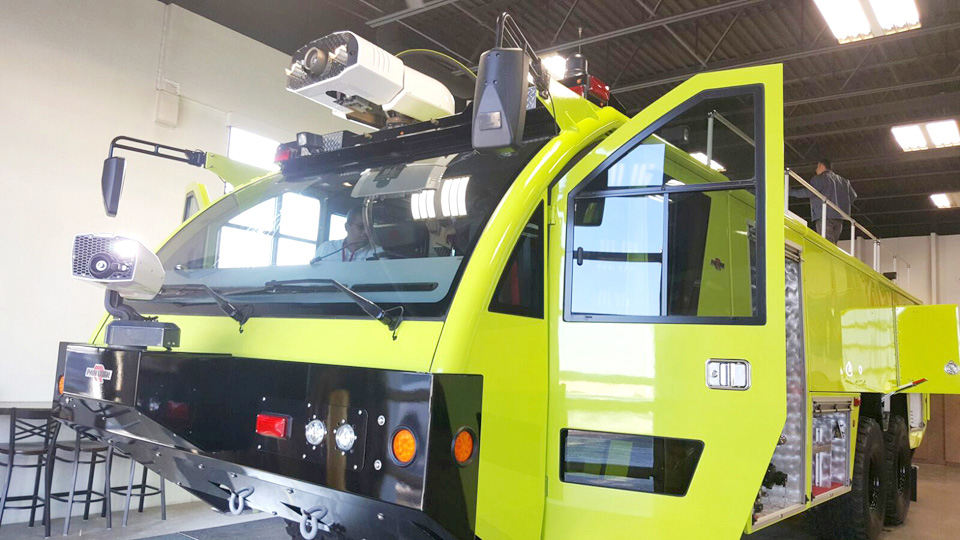New fire truck for the Brac