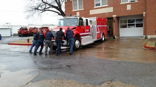 Coleman Fire Department gets new fire truck