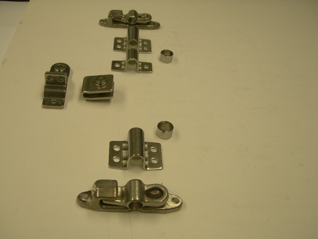 16 Mm Polished Stainless Steel Door Lock Cam Type Anti