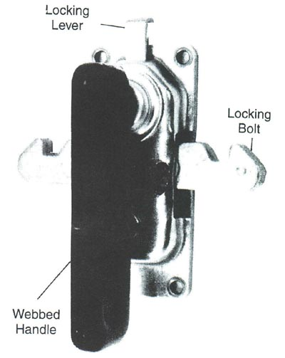 Heavy Duty Sliding Compartment Door Latch