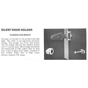 Silent Door Holder