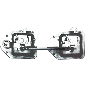 Rotating Catch Compartment Latches