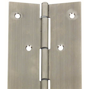 Stanley Continuous Hinges, Nickel Plated