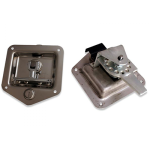 Folding T Locks and Latches