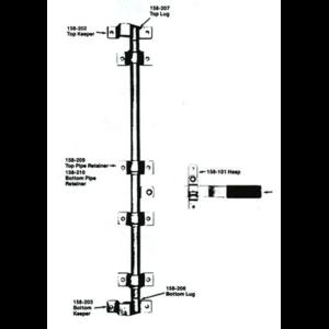 Polar Cam Type Lock Kit