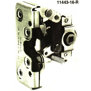 Two-Rotor Latch and Release Linkage