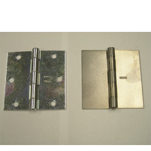Broad Hinges - Zinc Plated