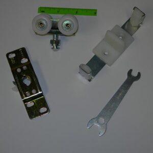 1750 Series Pocket Door Hardware Component Parts