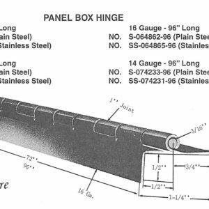Panel Box Hinges