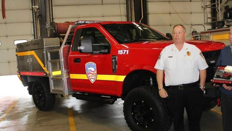 New brush truck built for Crown Point