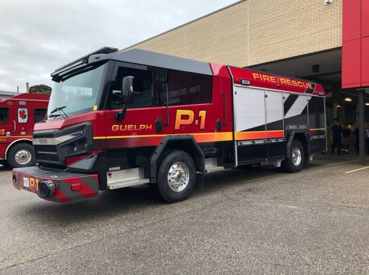 Guelph Fire Department puts new 'Avenger' pumper truck into service