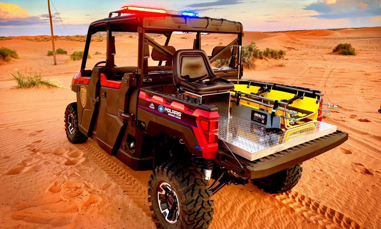 Texas Rescue Patrol rolls out new off-roading emergency vehicle