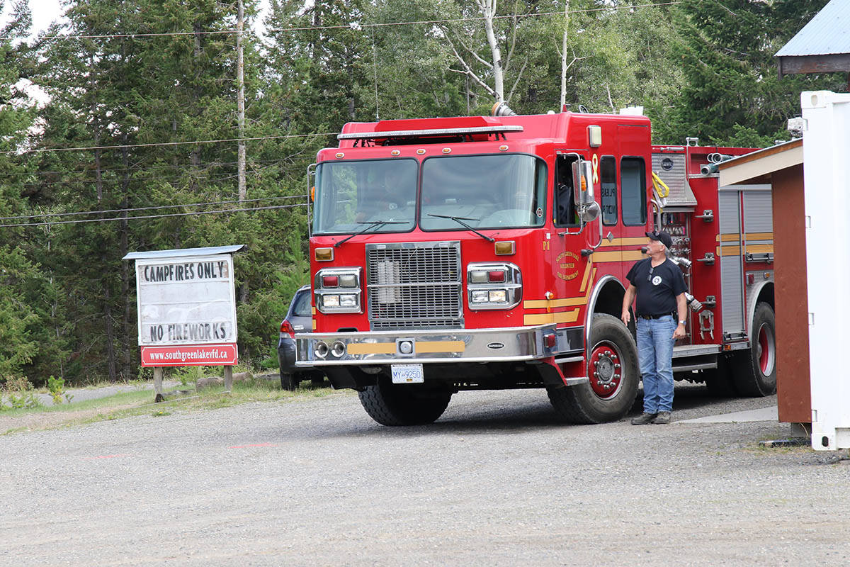 Green Lake VFD members complete Emergency Vehicle Operations