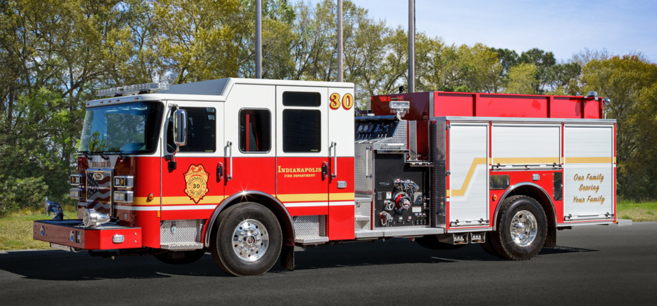 Pierce Secures Order for 11 Custom Fire Apparatus for the Indianapolis Fire Department