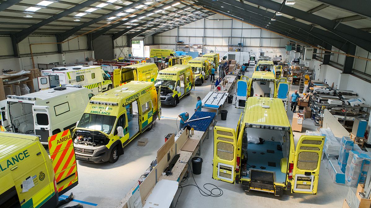 AMBULANCE MAKER ACQUISITION NAMED DEAL OF THE MONTH