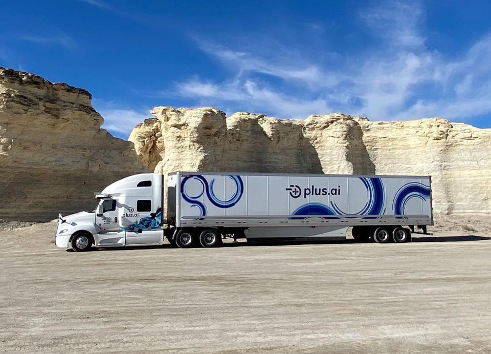 An Autonomous Semi-Truck Just Drove Across America To Deliver Butter