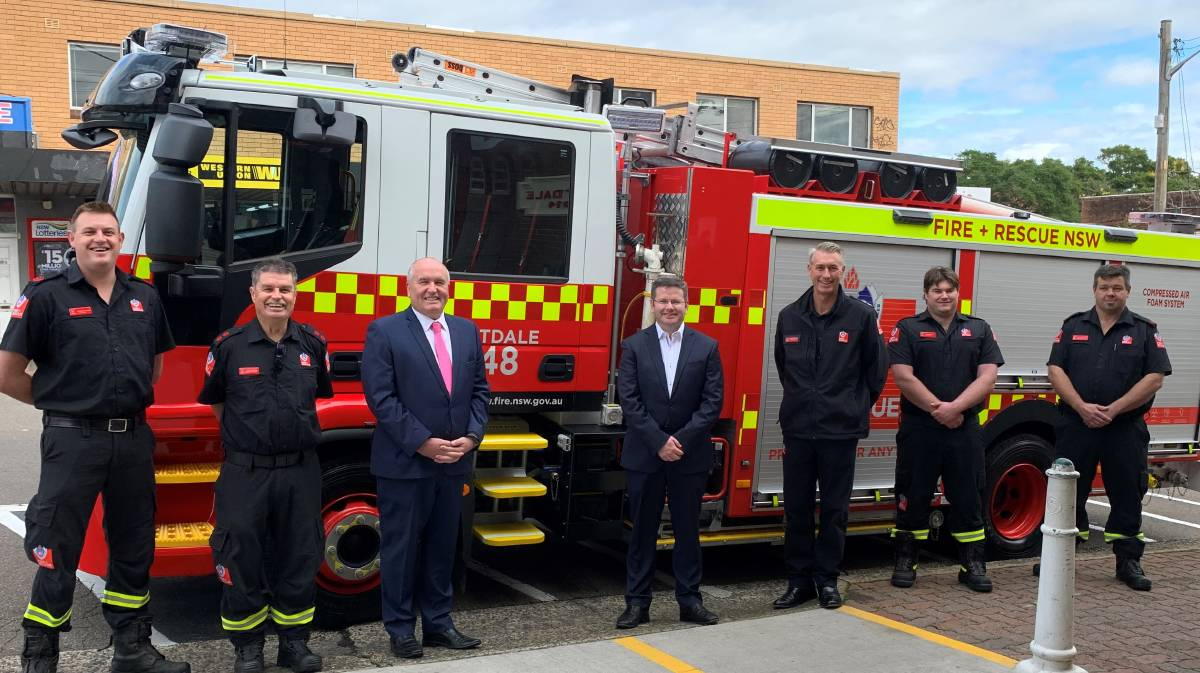 New state-of-the-art fire truck for Mortdale fire station