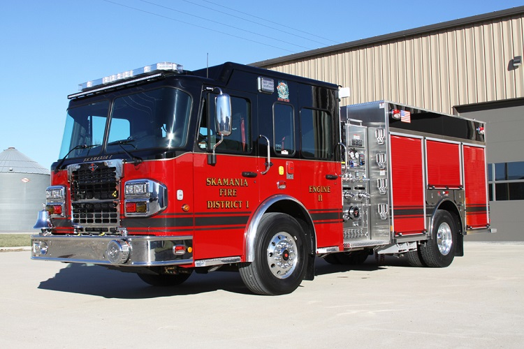 Skamania Fire District #1 Bolsters Fleet With New Toyne Apparatus