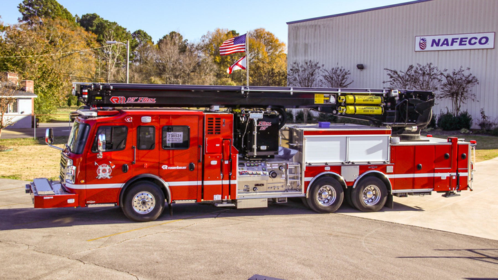 Rosenbauer and NAFECO Partner in Southeastern US