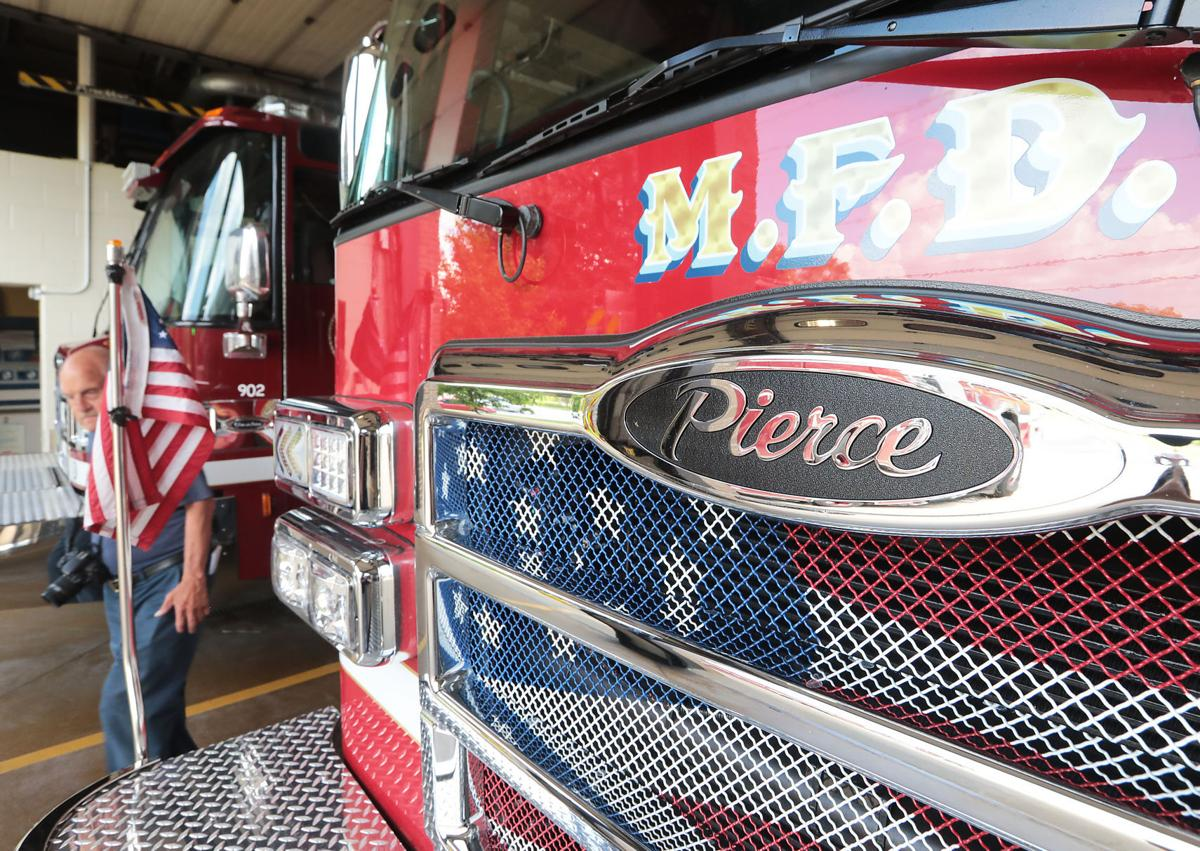 Madison unveils nation's first electric fire engine